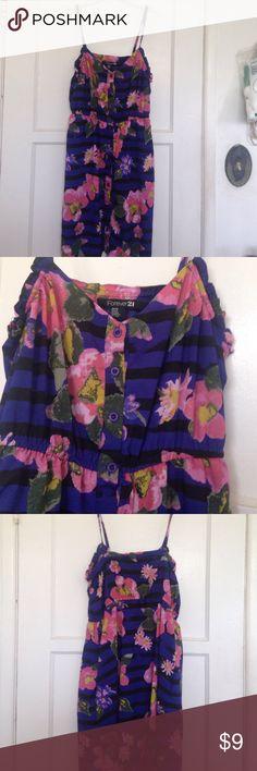 Dress M. Dress forever 21 good condition Forever 21 Dresses Midi