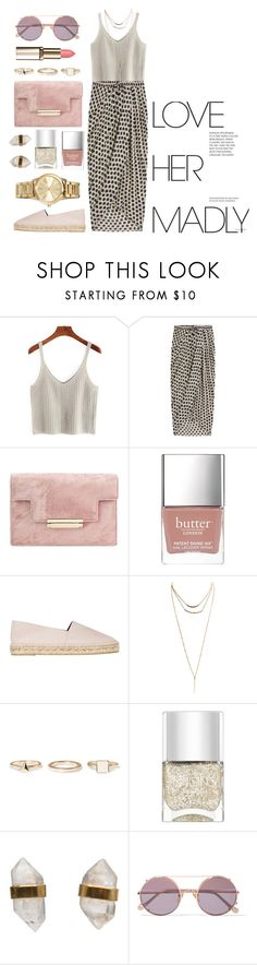 """""""powder pink"""" by anchilii ❤ liked on Polyvore featuring Thakoon, Butter London, Kenzo, Wet Seal, Warehouse, Nails Inc., Better Late Than Never, Sunday Somewhere and MICHAEL Michael Kors"""
