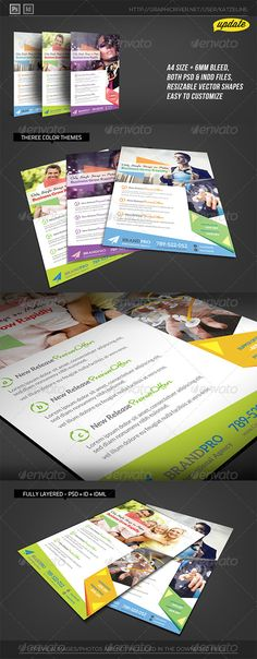 Flyer template for travel business36 Flyer template - fashion design brochure template