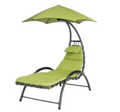 Best Choice Products Arc Curved Hammock Dream Chaise Lounge Chair Outdoor Patio Pool Furniture