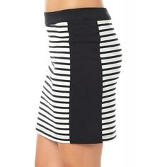 Fusta Dama VERO MODA Tracy Striped Short Striped Shorts, Skirts, Fashion, Moda, Fashion Styles, Skirt, Fashion Illustrations, Stripe Shorts