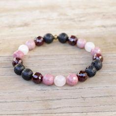Aromatherapy Bracelet. #aromatherapy #bracelet #love #beadedjewelry