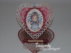 TinyWorks: Easel Card Heart