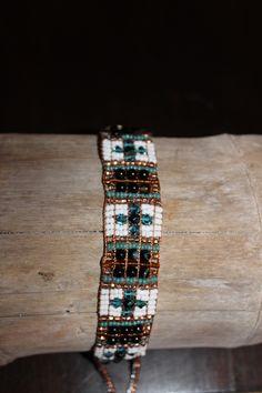 Copper River Beaded Bracelet