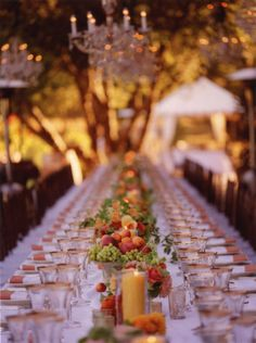 Gorgeous table runner of fruit! photo by San Francisco wedding photographer Meg Smith via Junebug Weddings Fruit Centerpieces, Edible Arrangements, Flower Arrangements, Rustic Centerpieces, Fruit Wedding, Summer Wedding, Wedding Fun, Wedding Things, Wedding Blog
