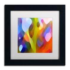 'Dappled Light 15' by Amy Vangsgard Framed Graphic Art