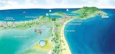 Arch Progetti: Arte Gráfica do Mapa de Localização do Loteamento ...