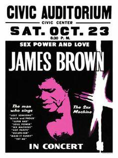 James Brown 24x36 Poster
