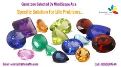 Gemstone Selected By #MindScope As A Specific #Solution For Life #Problems… Visit : https://fematta.com/