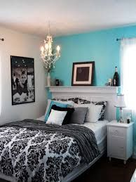 Image result for teal black and white bedroom