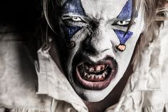 Scary Clown by RichJohnsonPhoto