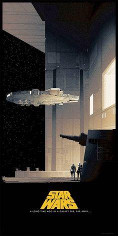 Splendides nouvelles affiches pour la trilogie originale de Star Wars  - Tous droits réservés ©