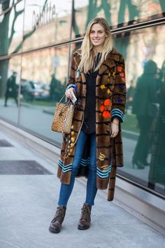 The Best Street Style Looks From Milan Fashion Week Fall 2017   Fashionista