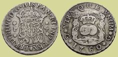 4 Reales. Guatemala, 1760