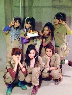 Kawaei Rina, Kimoto Kanon, Oba Mina, Kizaki Yuria, Abe Maria, Yagami Kumi, & Shimada Haruka [Majisuka Gakuen 3]