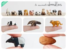 Le Animale Totems just got smaller!  Introducing Doodles! :)
