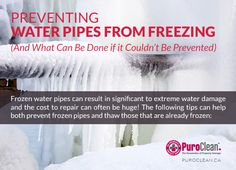Preventing Water Pipes from Freezing (And What Can Be Done if it Couldn't Be Prevented) | Water Damage Restoration, Mould Removal, Fire and Smoke Repair