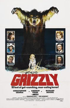El señor de los bloguiños: Grizzly (1976) de William Girdler