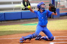 Florida Softball Catcher Aubree Munro throws the ball during a scrimmage