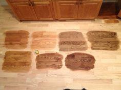 Red Oak Hardwood Floors Stain Colors
