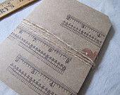 Notebook-Journal-Kraft Notebook-Project book-Idea Book-Sewing Theme-Vintage Ruler