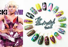 Nail Inspirations using the new Nikki Minaj OPI line, really liking the shatter over the heart