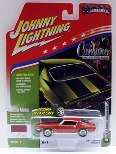 1:64  JOHNNY LIGHTNING MUSCLE CARS USA 2017 SERIES 1B - 1970 CHEVY CAMARO Z28- C #JohnnyLightning #Chevrolet