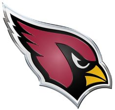 NFL Officially licensed products Arizona Cardinals Color Team Emblem These emblems are made out of light weight aluminum for durability. Arizona Cardinals Logo, Cardinals Shirts, Cardinals Jersey, Cardinals Football, Cardinal Birds, Car Logos, Fan Gear, Cut And Color, Wall Decals