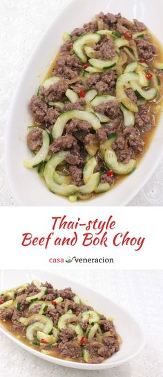 Draw out the excess liquid from the cucumber by tossing it with salt and letting it sit for 30 minutes. Squeeze and its ready for cooking chili ground pork and cucumber stir fry. via @casaveneracion