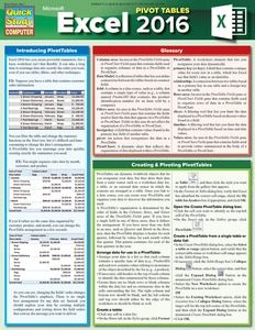 Excel Tips & Tricks Laminated Reference Guide - BarCharts Publishing Inc makers of QuickStudy Microsoft Excel, Microsoft Office, Computer Shortcut Keys, Computer Basics, Computer Help, Pivot Table, A Team, Make Money Online, Knowledge
