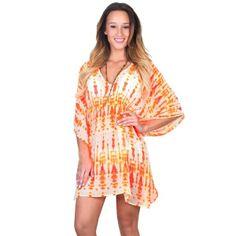 Echo Design Batik Butterfly Swimsuit Coverup