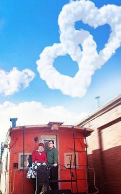 A train-tastic one year anniversary photo shoot! http://su.pr/AdOWHb