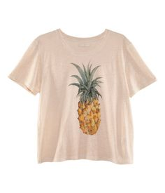 H pineapple shirt