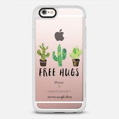 Casetify iPhone 7 Case and Other iPhone Covers - Free Hugs by Sam's Simple Decor   #Casetify
