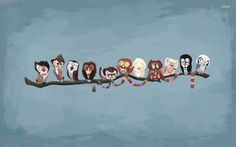 doctor who owls   Doctor Who owls wallpaper