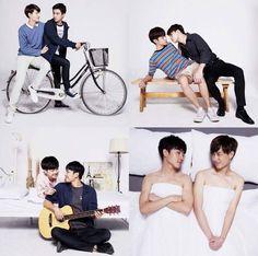 Lgbt Couples, Cute Gay Couples, Perth, Jikook, Kdrama, Taiwan Drama, 2moons The Series, Korea Boy, Japanese Drama