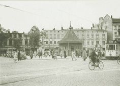 Doberaner Platz in 1920ern, Rostock