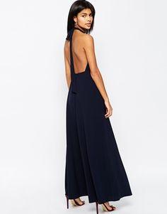 ASOS Open Back Maxi Dress