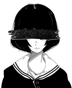 Girls With Black Hair, Picts, White Photography, Anime Characters, Riding Helmets, Monochrome, Avatar, Black And White, Manga