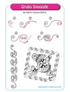 Grubs Squiggle by Kathrin Güssow