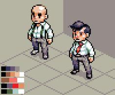 Pixel Life, Pixel Characters, Pixel Games, Pixel Design, Game Concept Art, 2d Art, Character Design Inspiration, Art Tutorials, Pixel Art