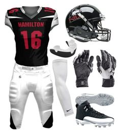 """""""Hamilton Football"""" by blvcksymba on Polyvore featuring men's fashion and menswear"""
