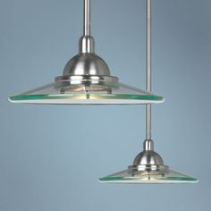 Kichler Galaxie Brushed Nickel 10-Inch-W Mini Pendant