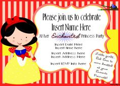 Mighty Delighty: Snow White Princess Party!