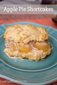 Take a classic dessert and add some apples to make a delicious dessert with these Apple Pie Shortcakes, the perfect twist if you prefer apples