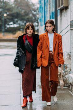Street Style at New York Fashion Week Fall 2018   POPSUGAR Fashion
