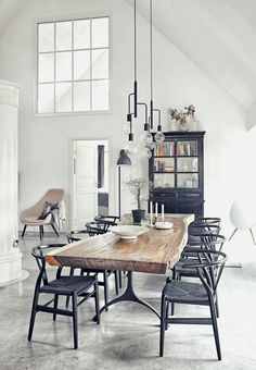 4 Vivid Simple Ideas: Natural Home Decor Boho Chic natural home decor modern lights.Natural Home Decor Modern Rustic natural home decor rustic benches.Natural Home Decor Wood Interior Design. Sweet Home, Dining Room Inspiration, Furniture Inspiration, Furniture Ideas, Dining Furniture, Wooden Furniture, Farmhouse Furniture, Furniture Makeover, Rooms Furniture