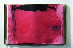 Minimalist but emotional sketch by Catalan painter Antoni Tapies