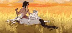 Centaurs | Centaurs in a field by Deericious on DeviantArt
