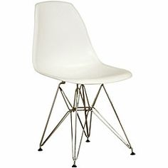 look 4 less - Eames Plastic Molded Plastic Side Chair Look 4 Less!